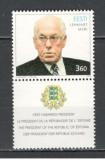 Estonia.1999 Presedintele L.Meri-cu vigneta  SE.177, Nestampilat