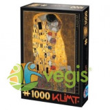 Puzzle 1000 Gustav Klimt - The Kiss (66923-02)