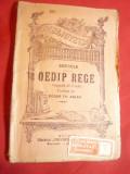 Sofocle- Oedip Rege ,interbelica BPT 289 ,Universala Alcalay,trad.Ed.Th.Aslan