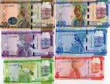 Bancnota Gambia 5 - 200 Dalasis 2015 - P31-36 UNC ( set complet 6 bancnote )