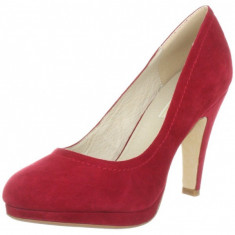 GDY132-3 Pantofi cu toc din piele intoarsa