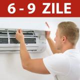 Instalare aer conditionat in 6-9 zile, fara Kit