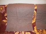 Material din lana de culoare gri cu dimensiunea (80x160)cm., NOU, 50