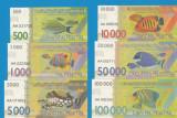 Cabo Dakhla 500 1000 5000 10000 50000 100000 pesetas 2015 UNC 6 PCS