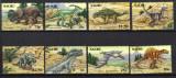NAURU DINOZAURI MI. 638-645   MNH, Nestampilat