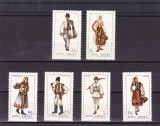 ROMANIA  1969   LP  693   COSTUME  NATIONALE  II SERIE   MNH