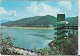 bnk cp Jud Arges - Lacul Vidraru - circulata - marca fixa