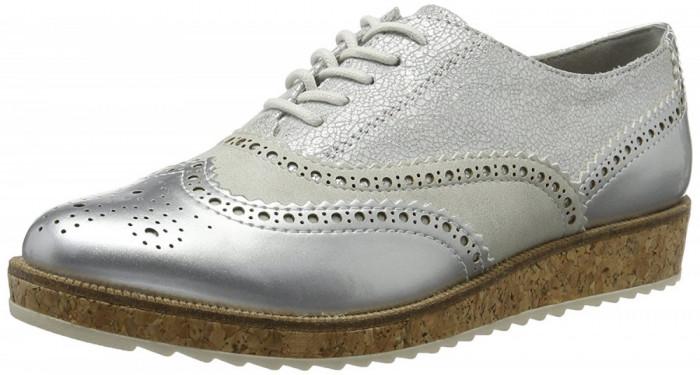 CH2429-6 Pantofi Oxford, model cu aspect perforat