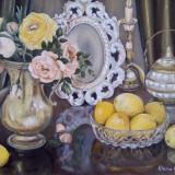 Pictura in ulei .Unicat., Natura statica, Realism