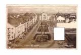 CP Timisoara - Vedere din Cetate, circulata, dantelata, 1945, Fotografie