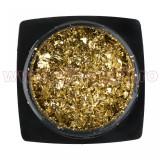 Decoratiune Unghii Folie Cameleon Gold