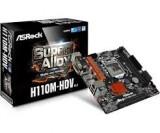 Placa de baza soket 1151 ASRock H110M-HDV R3.0, noua, garantie, Pentru INTEL, LGA1151, DDR4