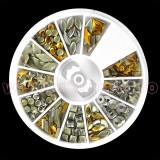 Strasuri unghii Metalic Vibe - Carusel Strasuri