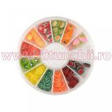 Betisoare Fimo Carusel - Batoane Fimo model fructe 2