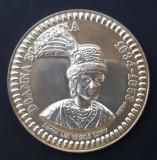 M137 Doamna Ecaterina sotia Vasile Lupu Argint