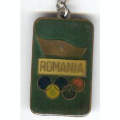 SEUL 1988 - COMITETUL OLIMPIC ROMAN  -  Breloc de colectie