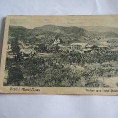 C.P.OCNELE MARI-VALCEA VEDERE SPRE HOTEL STEFANESCU, Circulata, Printata
