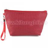 Geanta Produse Manichiura Travel Scarlet