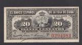 A2292 Cuba 20 centavos 1897 UNC