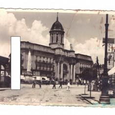 CP Arad - Strada colonel Piric, circulata, 1938, uzata, Fotografie