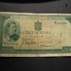 500  lei  1934  B/1