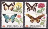 Biafra  1968  fauna  fluturi  MI 27-30  MNH  w51, Nestampilat