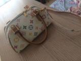 Vând geanta Louis Vuitton, Alb, Mica, Louis Vuitton