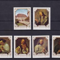 ROMANIA 1970  LP 751  REPRODUCERI DE ARTA II SIMTURILE   SERIE  MNH