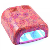 Lampa UV 36W ENS PRO Germania cu 4 Neoane si Timer - Flowers Design