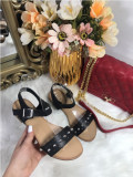Sandale dama negre marime 36, 37, 38, 39, 40+CADOU
