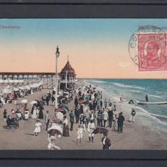 CONSTANTA   PLAJA    MAMAIA  CIRCULATA  1915  TCV, Printata