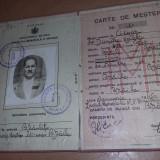 Carte de MESTER/Carnet de Mester,CISMAR,Braila,1944,document vechi,T.GRATUIT
