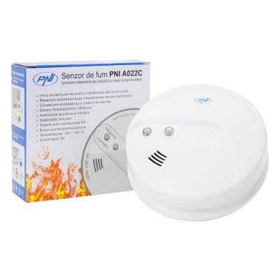 Resigilat : Senzor de fum PNI A022C functionare independenta sau conectat la un si foto