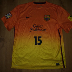 "Tricou autentic Nike Barcelona personalizat ""15 Michael"" mărimea XL, Din imagine, De club"
