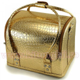 Geanta Produse Cosmetice Fraulein38, Gold Mist