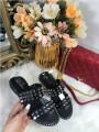 Papuci dama negri cu tinte marime  38+CADOU