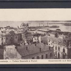 CONSTANTA   VEDERE  GENERALA  SI PORTUL, Necirculata, Printata