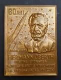 M7 Hermann Oberth sustine lucrarea racheta interplanetara la universitatea Cluj