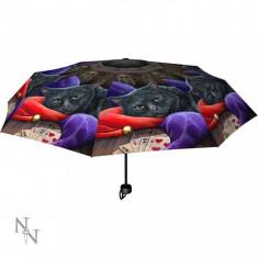 Umbrelă cu pisici Bufonul