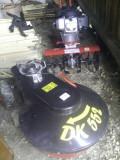 Motosapatoare Dragon 55H FK si adaptor coasa rotativa DK552