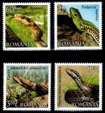 Romania 2011, LP 1887, Reptile din Romania, seria, MNH! LP 18,12 lei, Fauna, Nestampilat