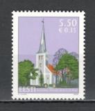 Estonia.2008 Biserica Sf.Cruce Audru  SE.305, Nestampilat