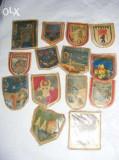Embleme vintage ORIGINALE,sigle vechi din tari diferite,reclame vechi T GRATUIT
