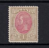 SPIC DE GRAU 1893 FILIGRAN PR - 1 LEU BRUN SI ROZ NECIRCULAT, Nestampilat
