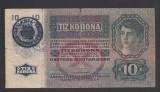 Romania Austro-Ungaria 10 korona kronen coroane 1915 1