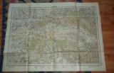 Harta regiunea Oradea 1940