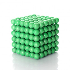 Neocube 216 bile magnetice 5mm, joc puzzle, fosforescente