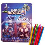 Set de 2 Figurine Clash Royale  2+ set 10 baloane modelaj, 4-6 ani