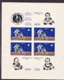ROMANIA 1971  LP 758 a  APOLLO 14   BLOC  MNH, Nestampilat