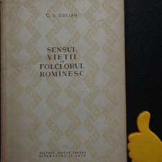Sensul vietii in folclorul romanesc Gulian